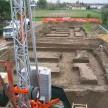 Tracciamento dei fabbricati e scavi